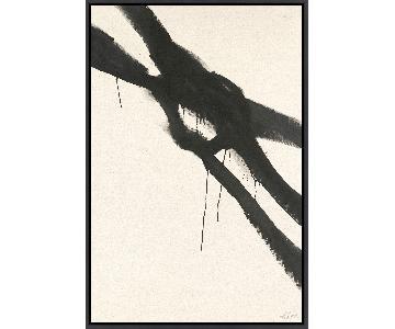 Lulu & Georgia Black & White Abstract Art