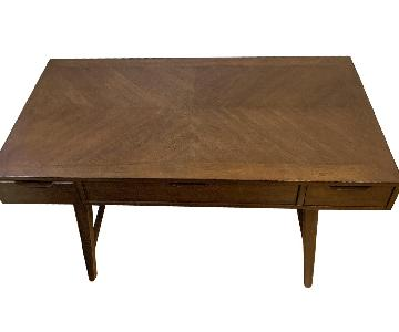 Langley Street Mid-Century Modern Wood Desk