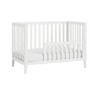Pottery Barn Marlow Crib w/ Convertible Toddler Bed Kit