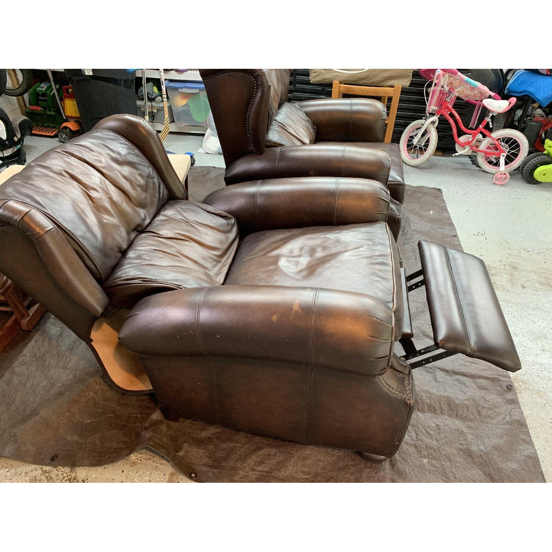 Bernhardt Warner Leather Recliners-2
