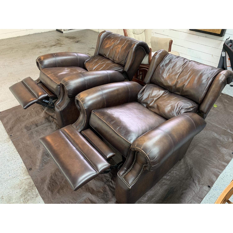 Bernhardt Warner Leather Recliners-3