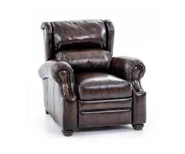 Bernhardt Warner Leather Recliners