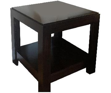 Custom Wood Side Tables