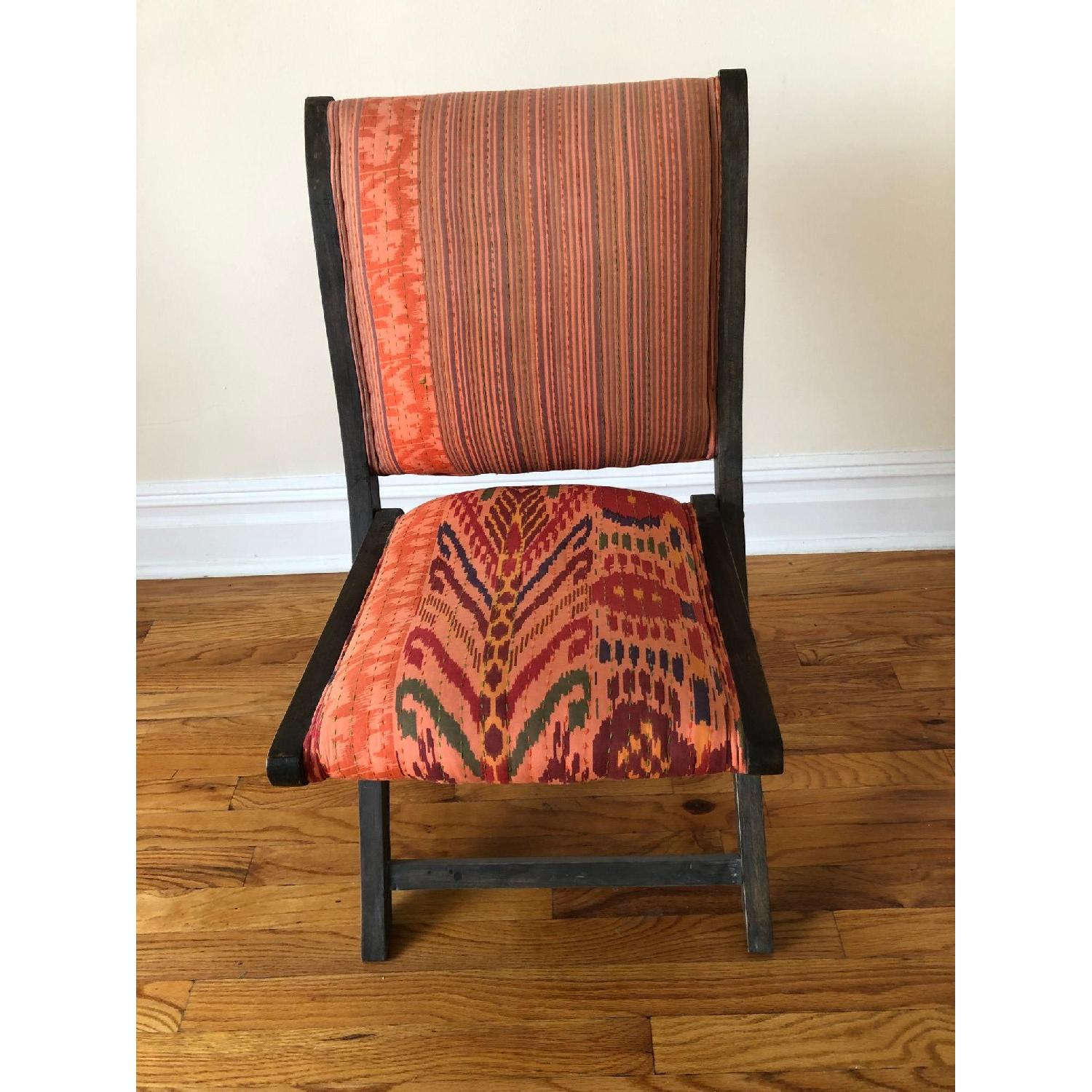 Marvelous Anthropologie Terai Folding Chair In Red Ikat Aptdeco Onthecornerstone Fun Painted Chair Ideas Images Onthecornerstoneorg