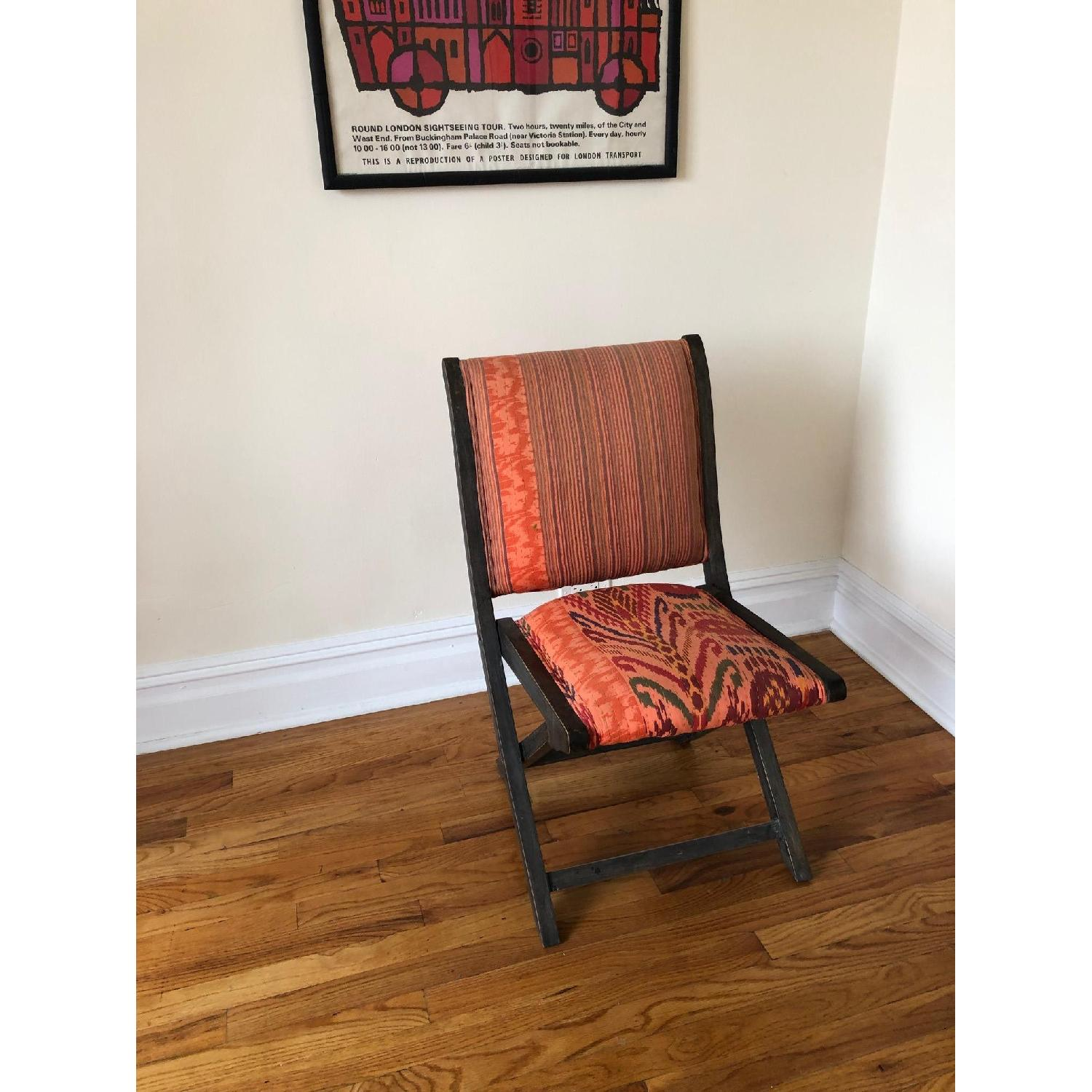 Outstanding Anthropologie Terai Folding Chair In Red Ikat Aptdeco Onthecornerstone Fun Painted Chair Ideas Images Onthecornerstoneorg