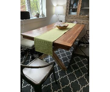 Nadeau Furniture Farmer's Dining Table w/ 4 Chairs