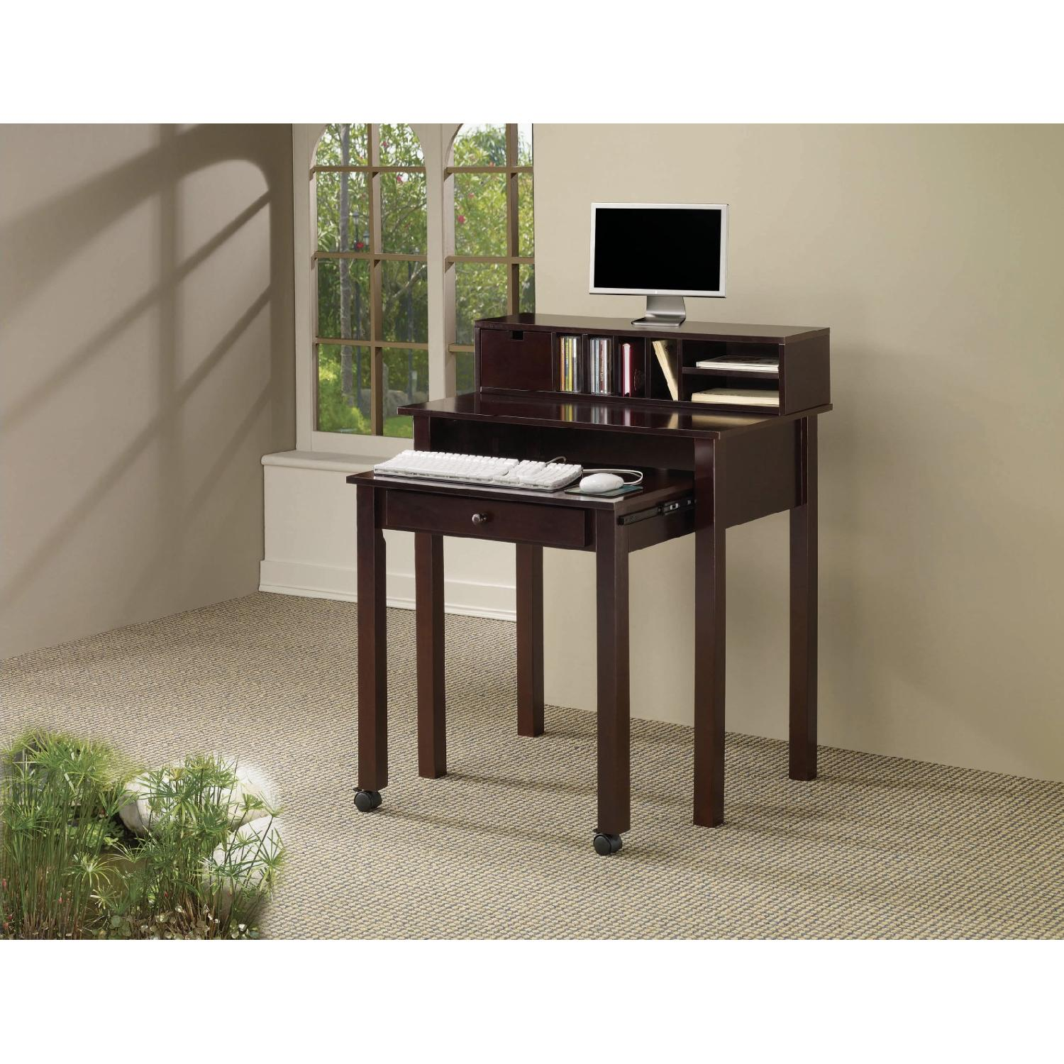 Coaster Roll Out Writing Desk - image-1