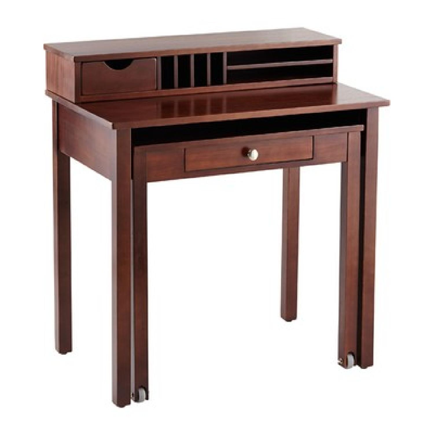 Coaster Roll Out Writing Desk - image-0