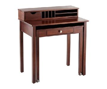 Coaster Roll Out Writing Desk