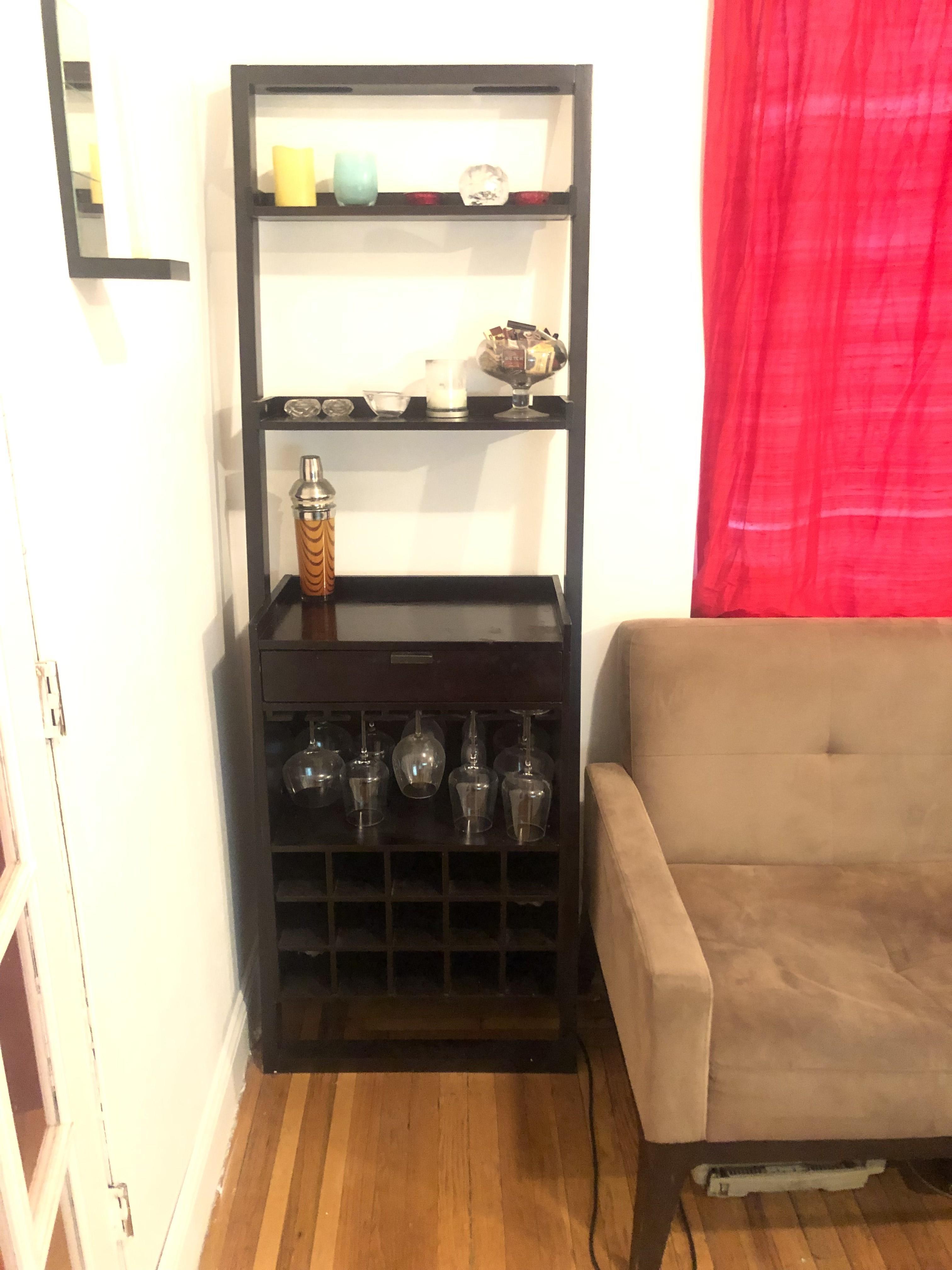Crate & Barrel Leaning Bar