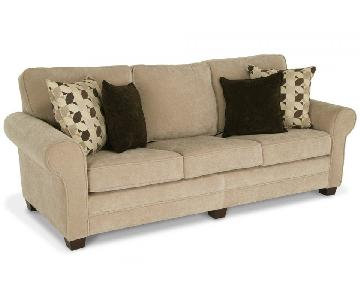 Bob's Beige 3 Seater Sofa