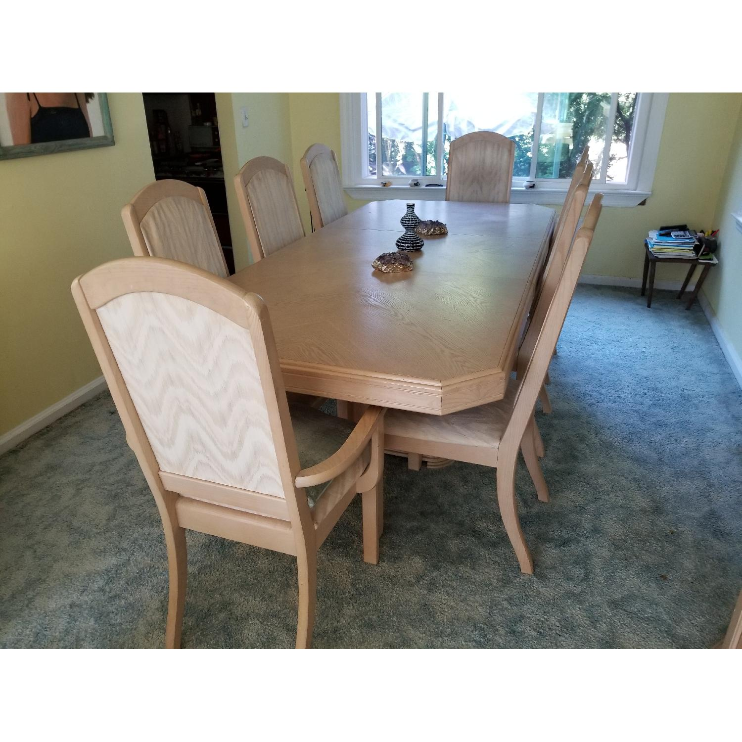 Seaman's Furniture Whitewash 9-Piece Dining Set - image-2