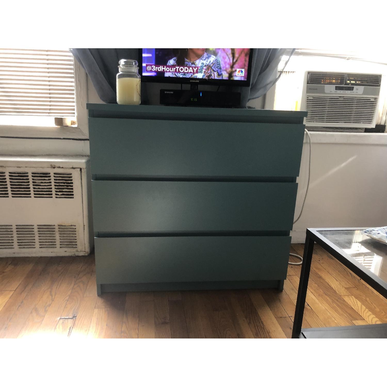 Ikea Malm 3 Drawer Dresser-0