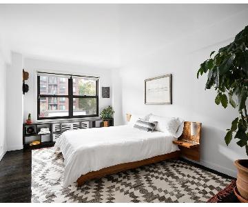 Modern Rimu Solid Wood Bed Frame