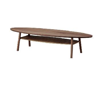 Ikea Stockholm Coffee Table in Walnut Veneer