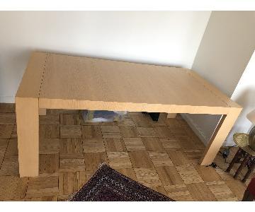 Scandinavian Designs Wood Dining Table