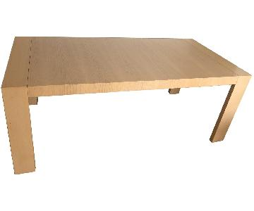 Scandinavian Designs Wood Dining Table