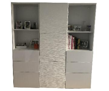 Ikea Custom Besta Wall Unit