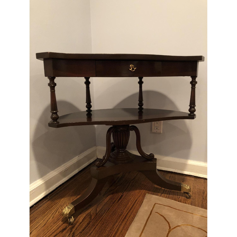 Antique Corner Table-0