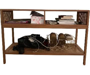 Rattan Console Table