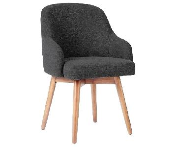 West Elm Saddle Dinning Chair