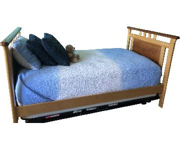 Vermont Precision Woodworks Morgan Twin Size Wood Bed