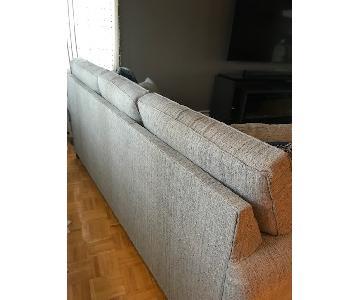 Huffman Koos Light Grey 3-Seater Sofa