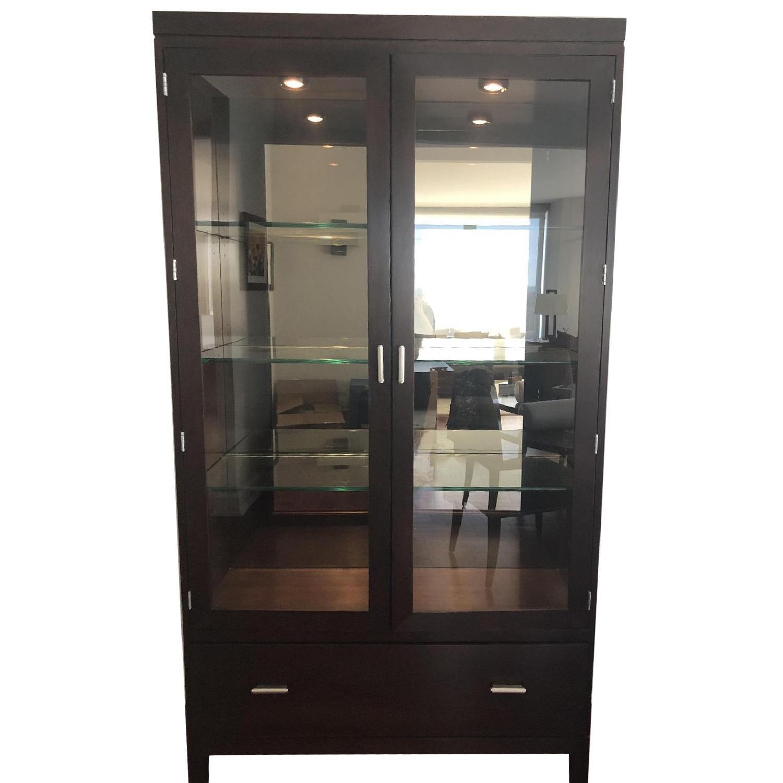 Stickley Display Cabinet w/ Drawer