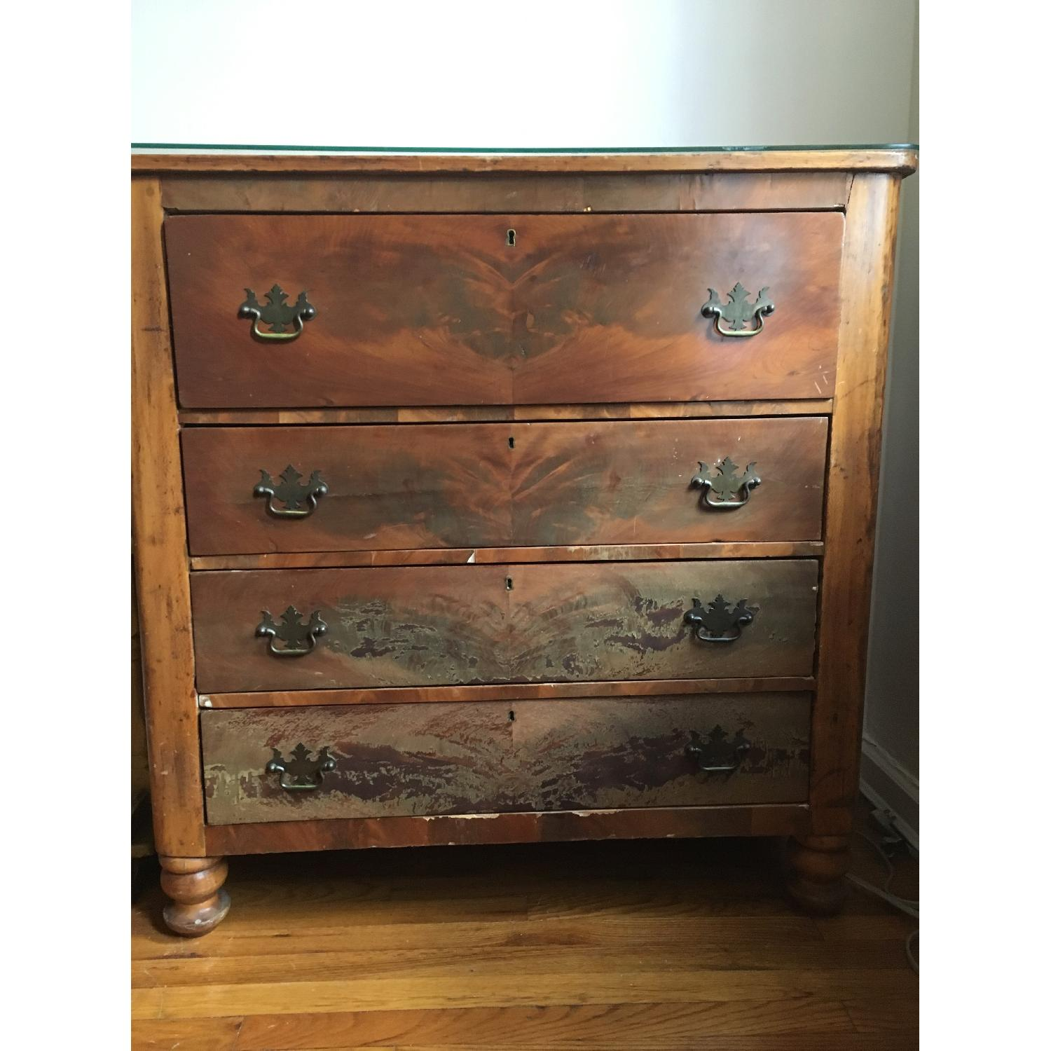 Antique Chest of Drawers-1