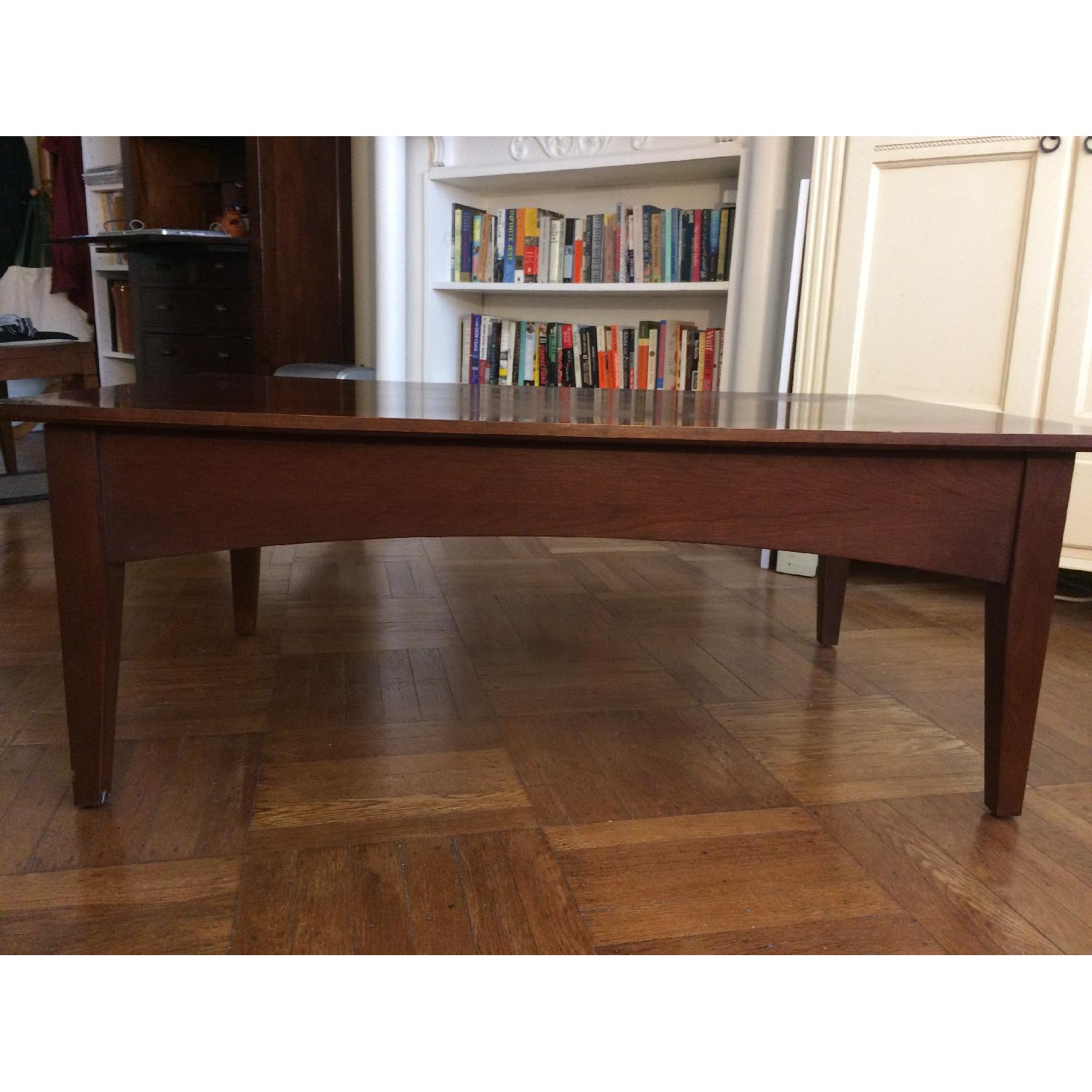 Ethan Allen Coffee Table w/ 1 Drawer-1