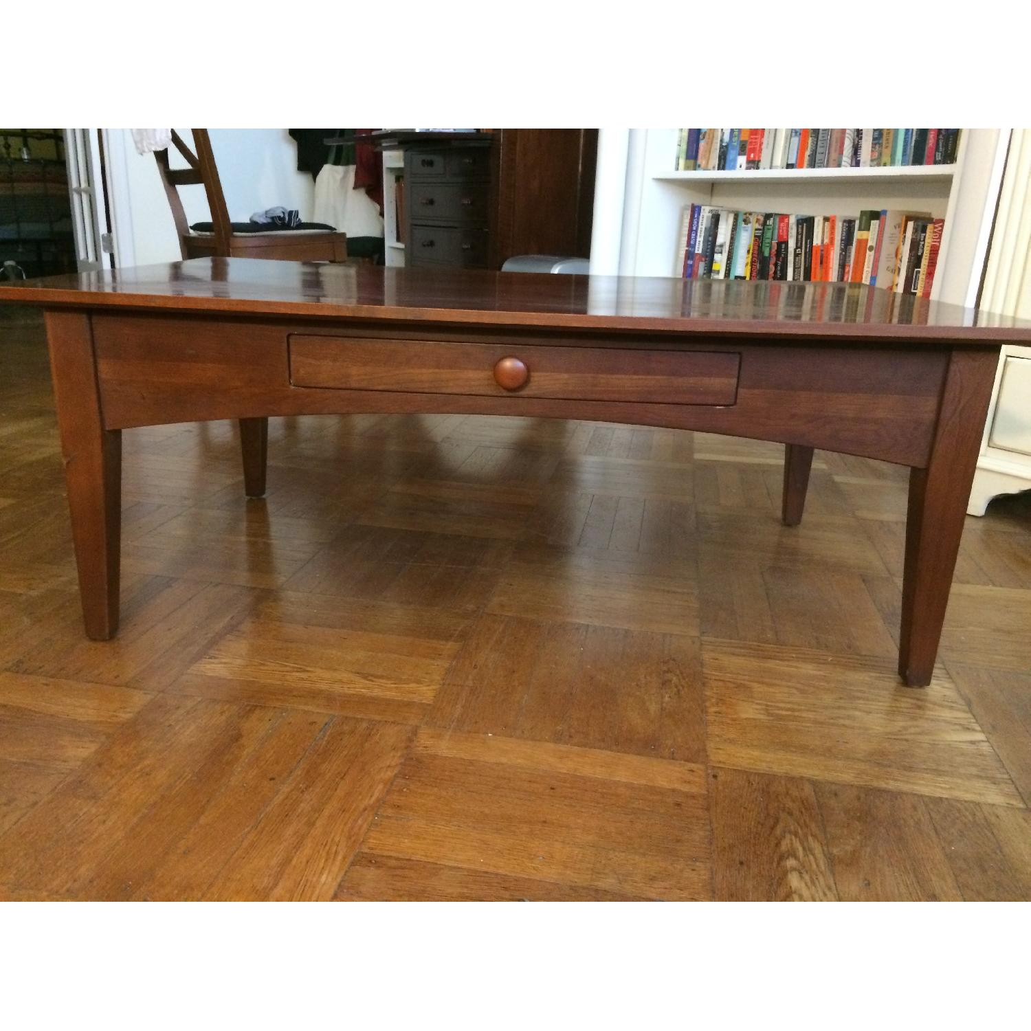 Ethan Allen Coffee Table w/ 1 Drawer-2