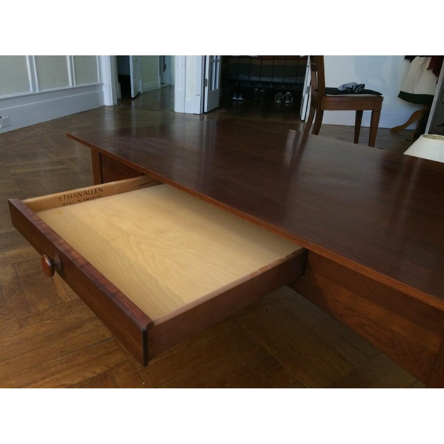 Ethan Allen Coffee Table w/ 1 Drawer-3