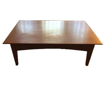 Ethan Allen Coffee Table w/ 1 Drawer