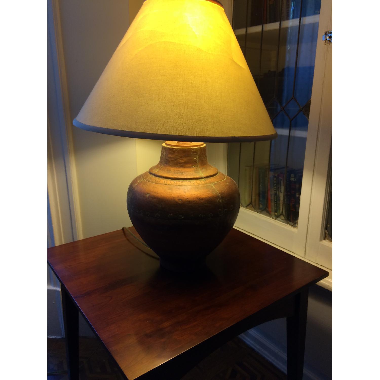 Ethan Allen Copper Table Lamp-0