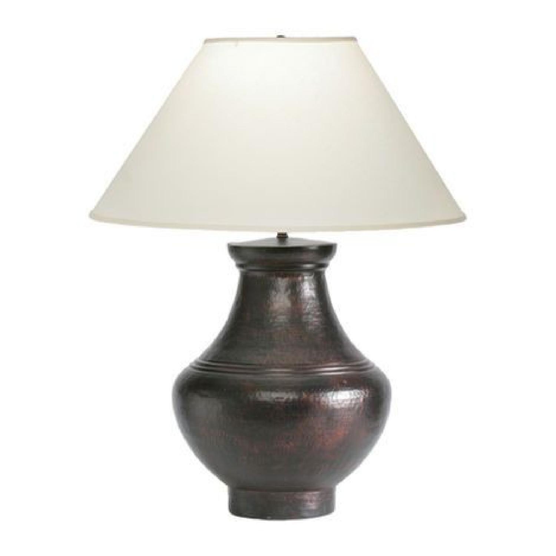 Ethan Allen Copper Table Lamp