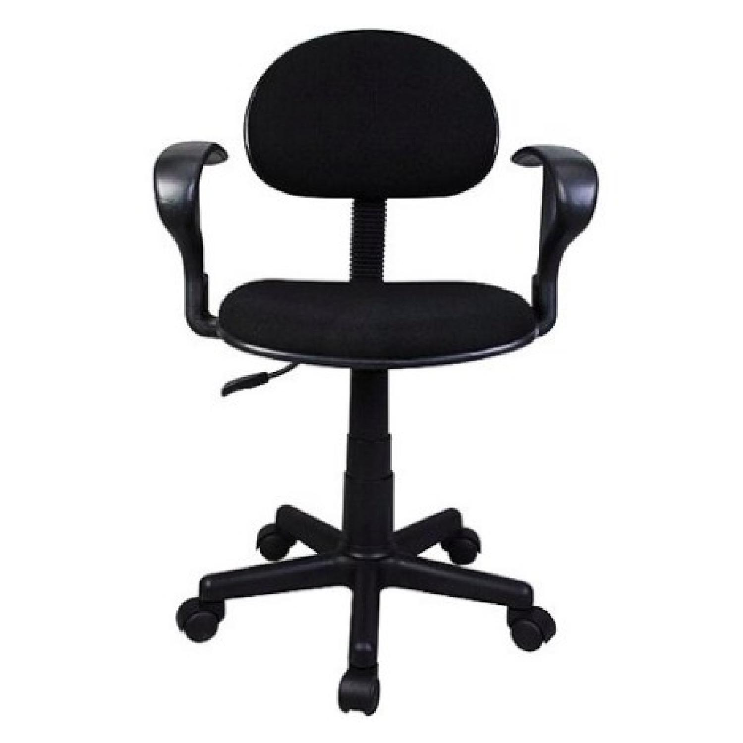 Black Task Chair w/ arms