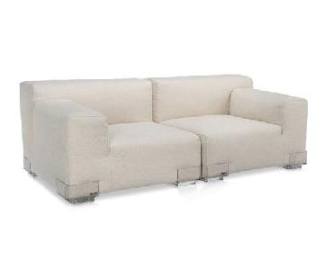 Kartell Plastics Duo Sectional Sofa