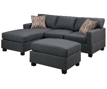 A&J Home Studios Vine Sectional Sofa