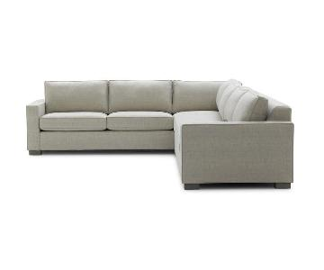 Mitchell Gold + Bob William Carson 2 Piece Sectional Sofa