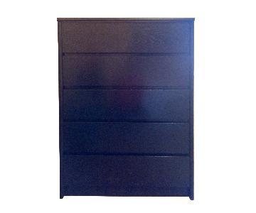 The Door Store 5-Drawer Wooden Dresser