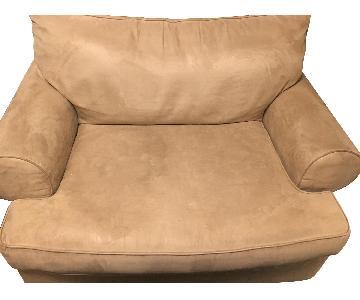 Jordan's Oversized Chair/Small Loveseat