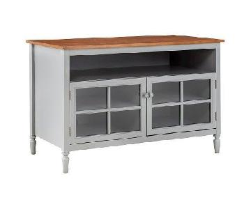 Target Grey TV Stand