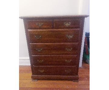 Vintage Solid Wood Dresser