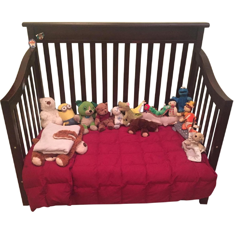 Bonavita Convertible Crib Toddler Twin Bed Aptdeco