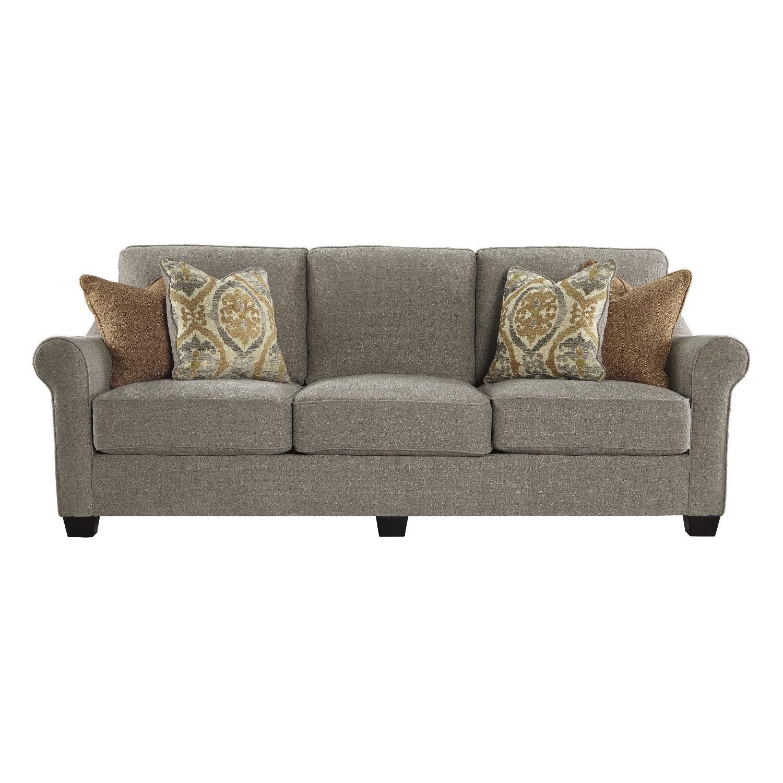 Ashley's Leola 3 Seater Sofa in Slate