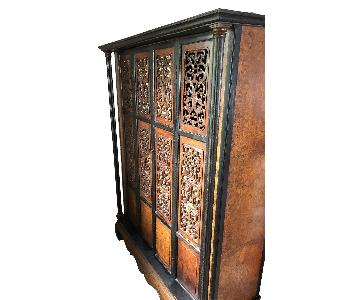 Vintage Chinese Style English Wardrobe