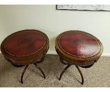 Antique Custom End Table