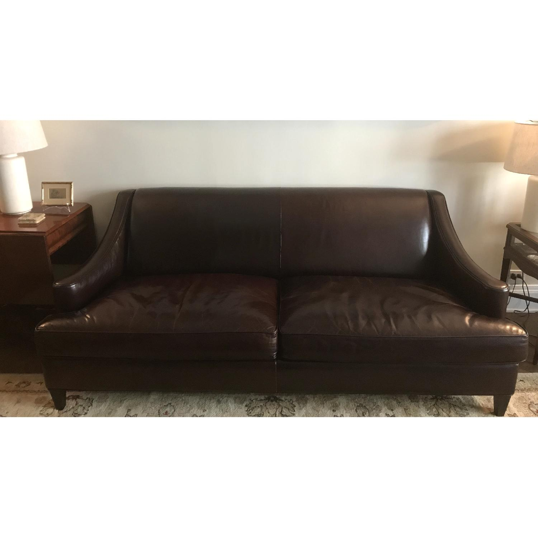 Room & Board Loring Leather Sofa-0
