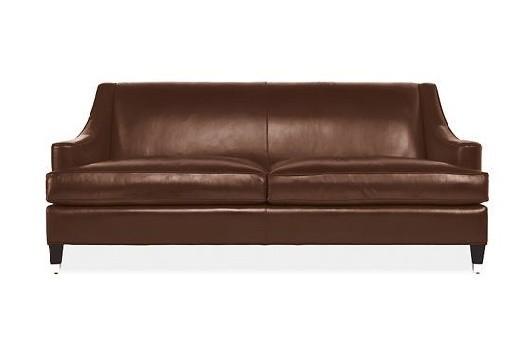Room & Board Loring Leather Sofa