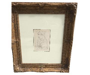 Framed Matisse Lithograph
